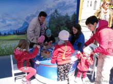 Kinderanimation mit Promotionteam Weihenstephan
